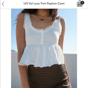 Urban Outfitters white crop